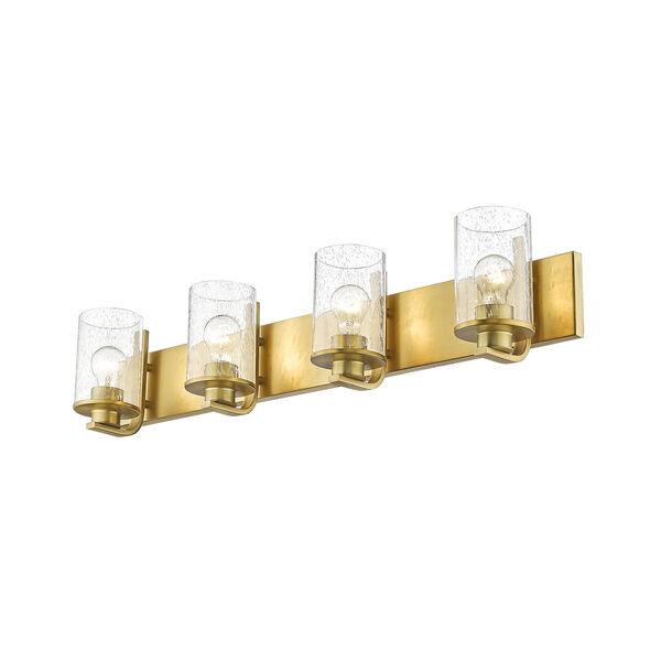 Beckett Olde Brass Four-Light Bath Vanity, image 5