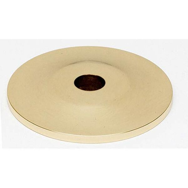 Polished Brass 1-Inch Backplate, image 1