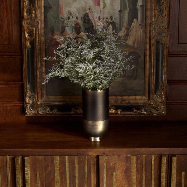 Black Onyx and Champagne Small Pemberton Vase, image 6