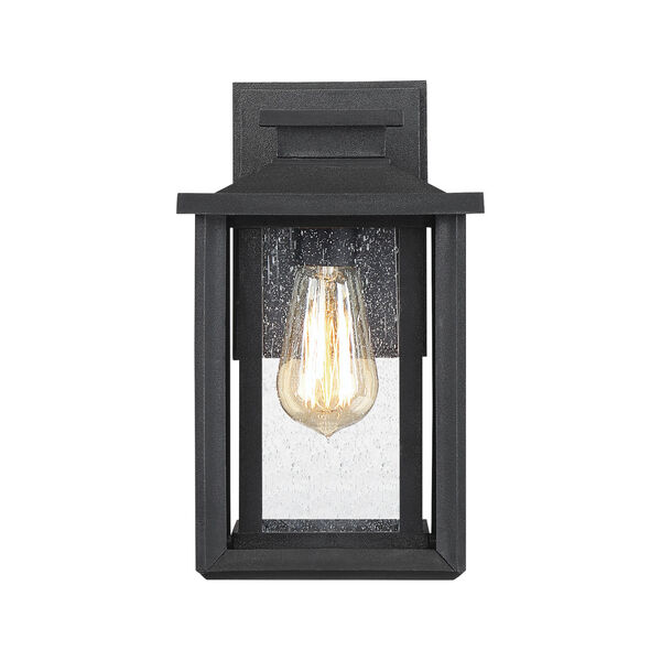 Wakefield Earth Black 11-Inch One-Light Outdoor Wall Sconce, image 3