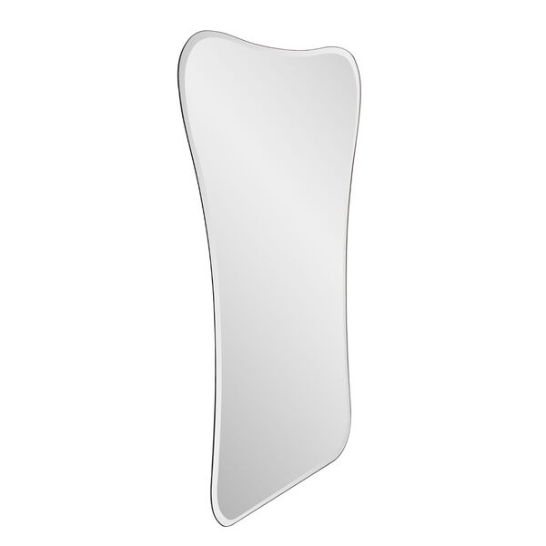 Mirrored Flared Frameless Wall Mirror, image 2