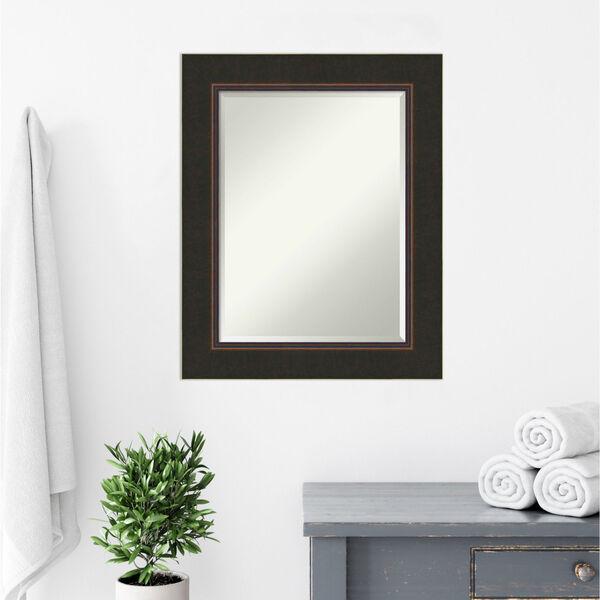 Milano Bronze 24W X 30H-Inch Bathroom Vanity Wall Mirror, image 5