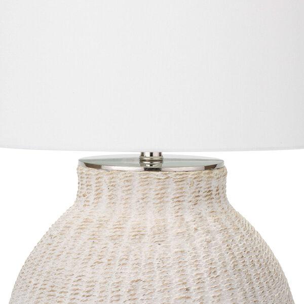 Hobi White One-Light Table Lamp, image 4