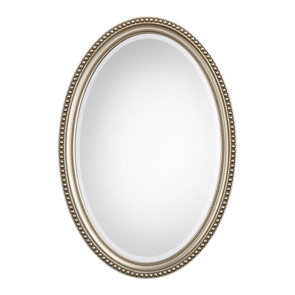 Wellington Silver Oval Mirror, image 2