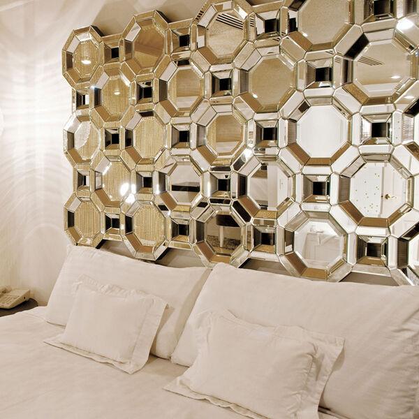 Crawford Transparent Leaner Rectangle Mirror, image 2