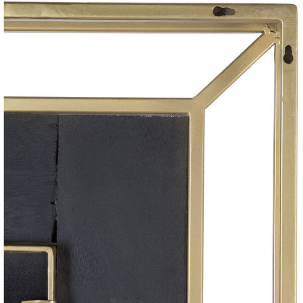 Allure Brown and Gold Wall Mirror, image 4