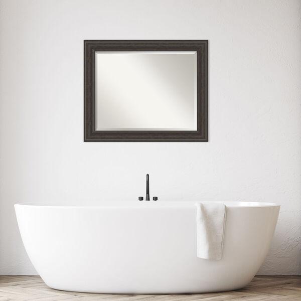 Shipwreck Gray 33W X 27H-Inch Bathroom Vanity Wall Mirror, image 3