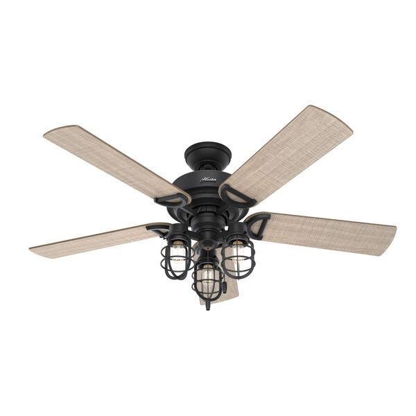 Starklake Natural Iron 52-Inch Outdoor LED Ceiling Fan, image 3