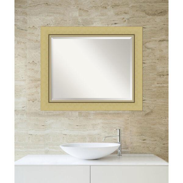 Landon Gold 34W X 28H-Inch Bathroom Vanity Wall Mirror, image 5