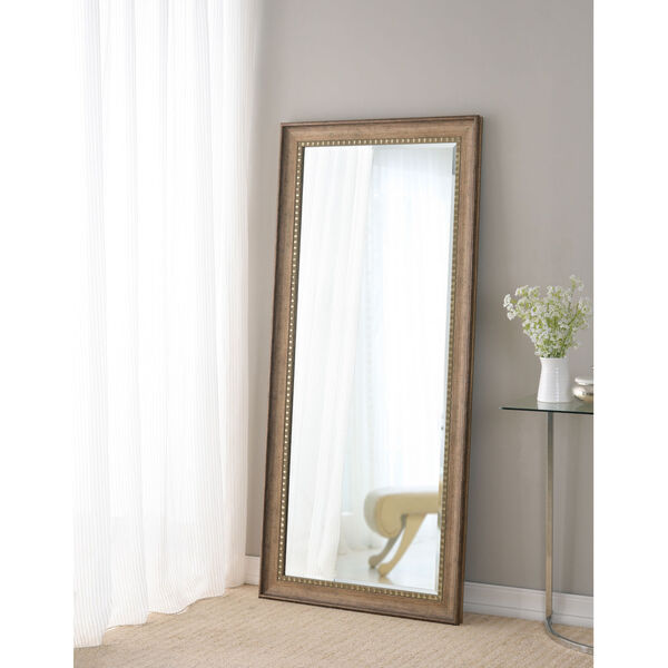 Amiens Antiqued Gold Full Length Mirror, image 1