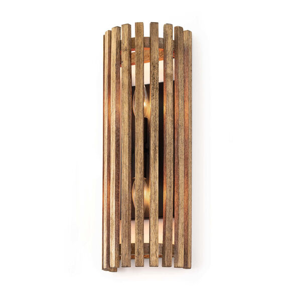 Orchard Brown Two-Light Wall Sconce, image 1