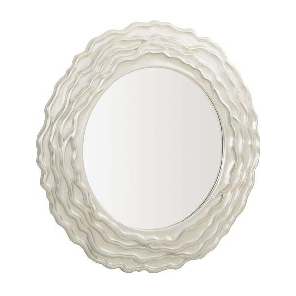 Silver Calista Round Mirror, image 3