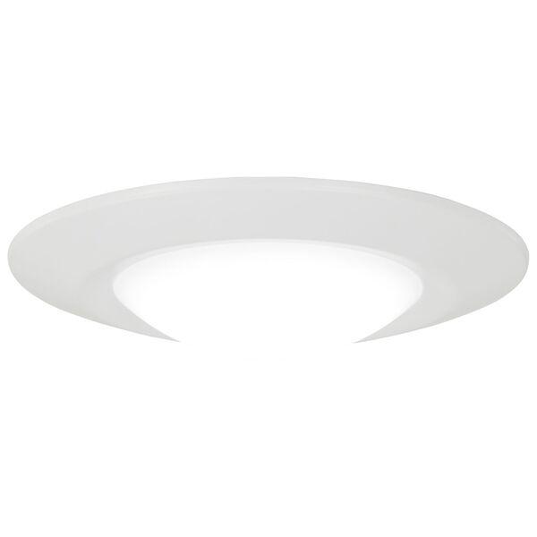 White LED Outdoor Flush Mount, image 1