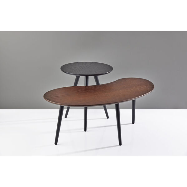 Gilmour Black and Walnut Nesting Table, image 3