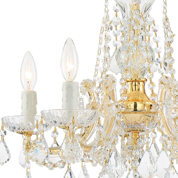 Maria Theresa Tall Five-Light Crystal Chandelier, image 3