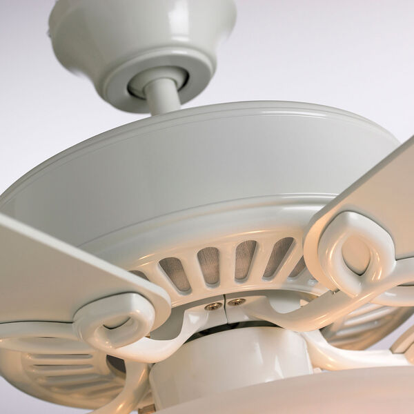 Pro Series White 50-Inch Ceiling Fan, image 5