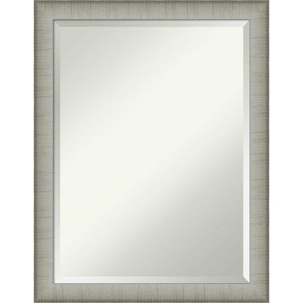 Elegant Pewter 21W X 27H-Inch Bathroom Vanity Wall Mirror, image 1