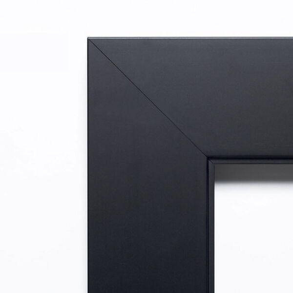 Corvino Black 45 x 35 In. Bathroom Mirror, image 3