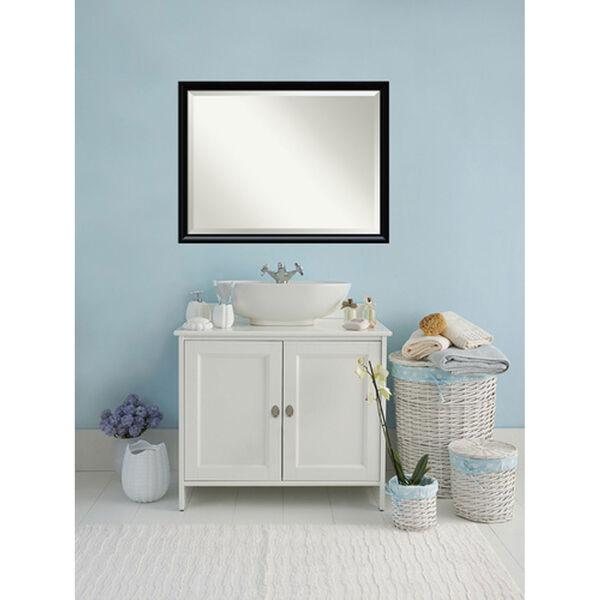 Steinway Black Scoop 33 x 43 In. Wall Mirror, image 6
