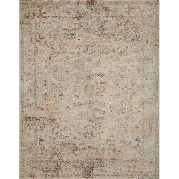 Axel Silver and Spice 6 Ft. 7 In. x 9 Ft. 10 In. Area Rug, image 1