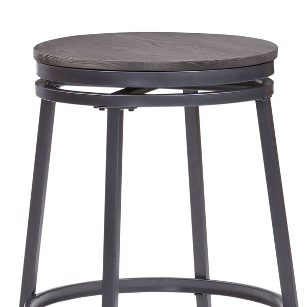 Chesson Gray Backless Counter Stool, image 4