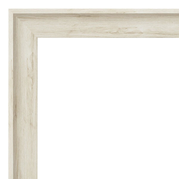 Regal White 45W X 35H-Inch Bathroom Vanity Wall Mirror, image 2