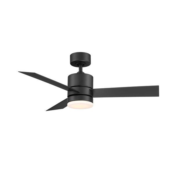 Axis Matte Black 44-Inch ADA LED Ceiling Fan, image 1