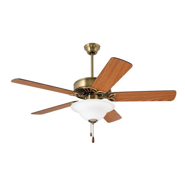 Pro Series Antique Brass 50-Inch Ceiling Fan, image 3