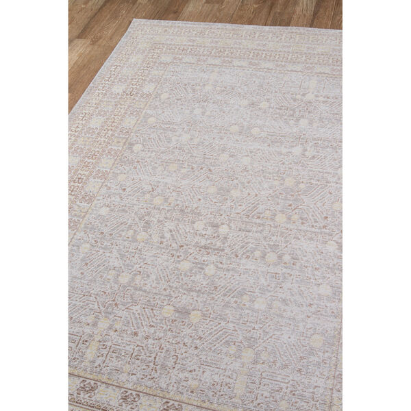 Isabella Tribal Gray Rectangular: 9 Ft. 3 In. x 11 Ft. 10 In. Rug, image 3