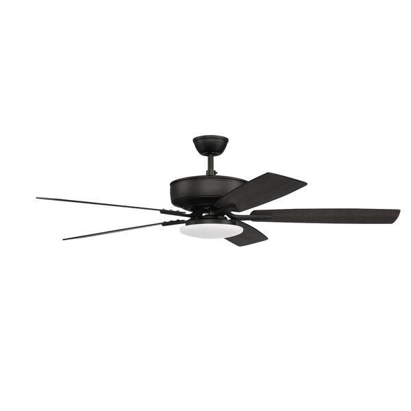 Pro Plus Flat Black 52-Inch LED Ceiling Fan, image 4