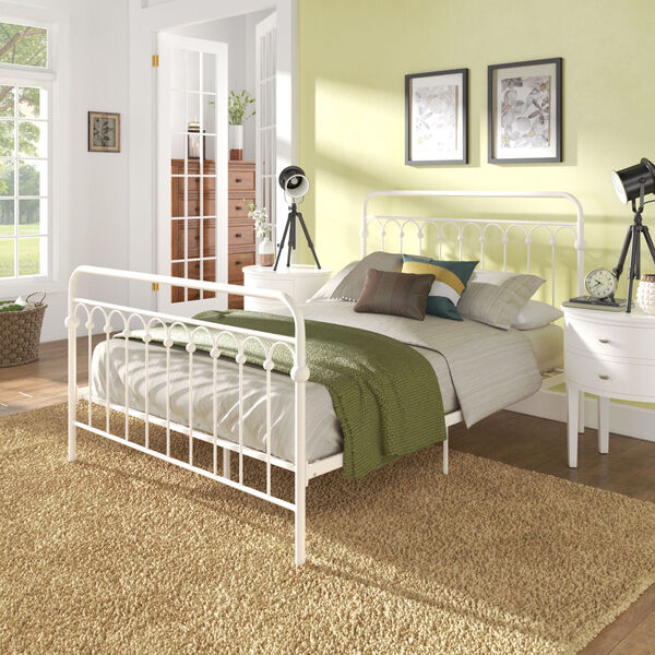 Isobel Metal Arches Platform Bed, image 6