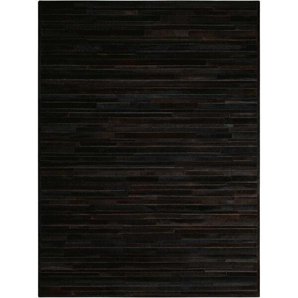 Prairie Black Rectangular: 5 Ft. 6 In. x 7 Ft. 5 In. Rug, image 1