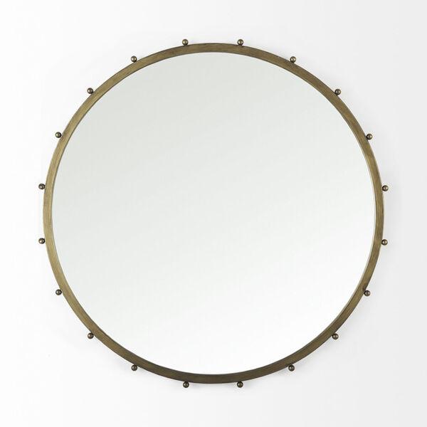Elena III Gold Wall Mirror, image 2