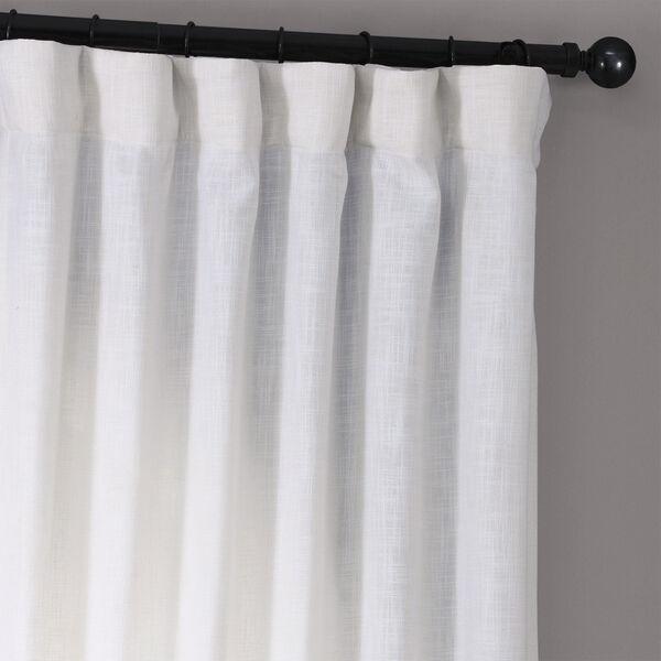 Rice White 120 x 50-Inch Curtain Single Panel, image 4
