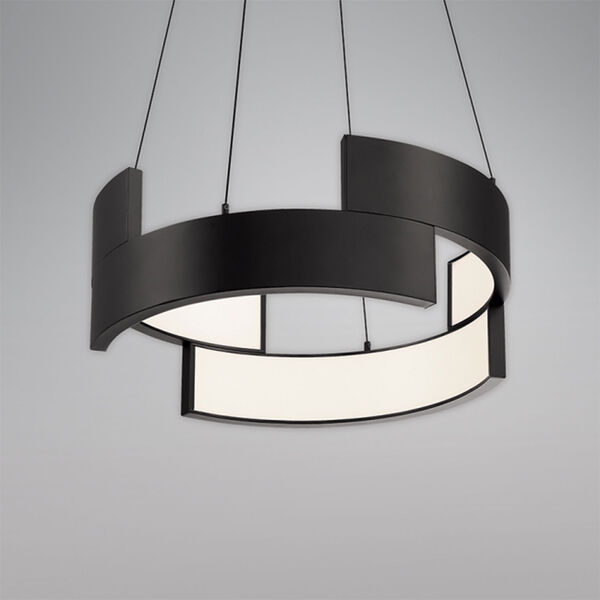 Trap Black 20-Inch LED Pendant, image 2