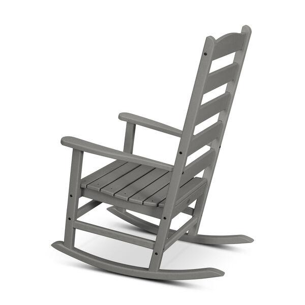 Shaker White Porch Rocking Chair, image 3