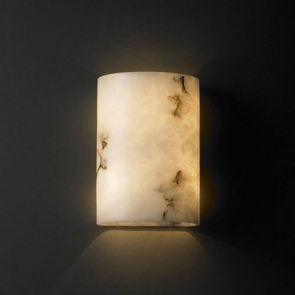 ADA Small Cylinder 1000 Lumen LED Wall Sconce, image 1