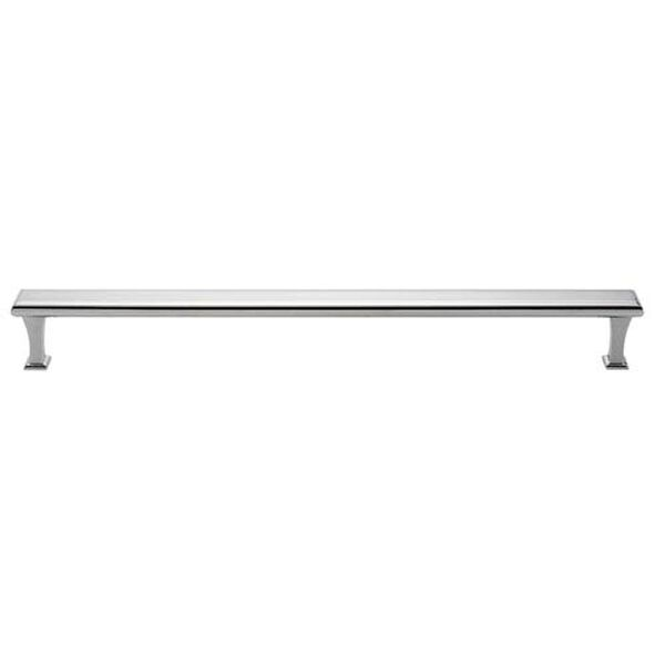 Polished Chrome Brass 18-Inch Appliance Pull, image 1
