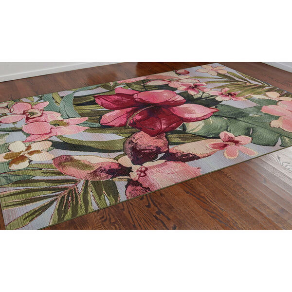 Marina Tropical Floral Indoor/Outdoor Rug, image 5