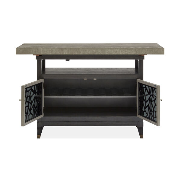 Ryker Black Counter Height Dining Table, image 4