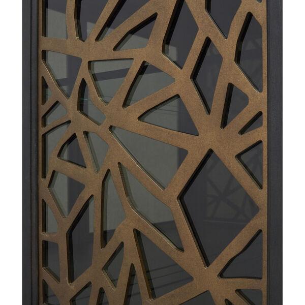Ryker Black Display Cabinet, image 6