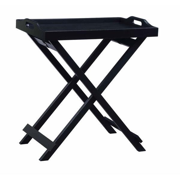 Designs2go Black Folding Tray Table, image 2