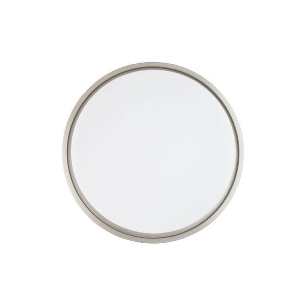 Lithium Brushed Nickel 19-Inch LED EM Backup Battery Flush Mount, image 4
