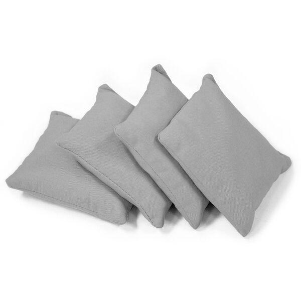 Grey Classic Corn Filled Cornhole Bags, image 1