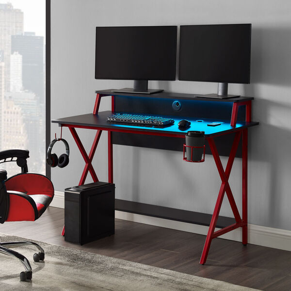 Ian Black Red Desk, image 3