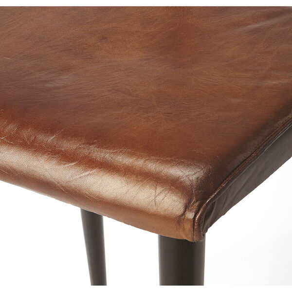 Brown 32-Inch Side Chair, image 6