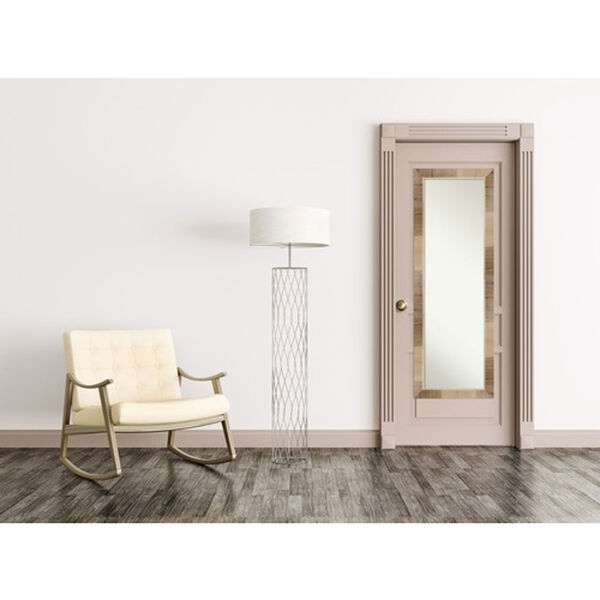 Brown 18-Inch Full Length Mirror, image 4