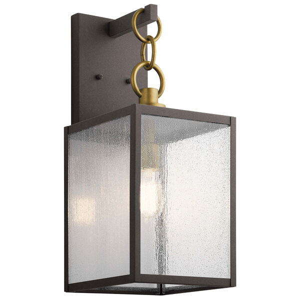 Lahden Weathered Zinc 22-Inch One-Light Outdoor Wall Sconce, image 1