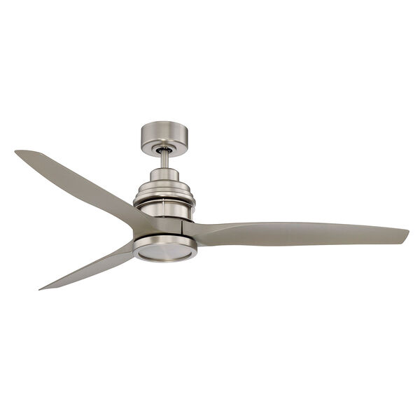 La Salle Satin Nickel LED Ceiling Fan, image 3