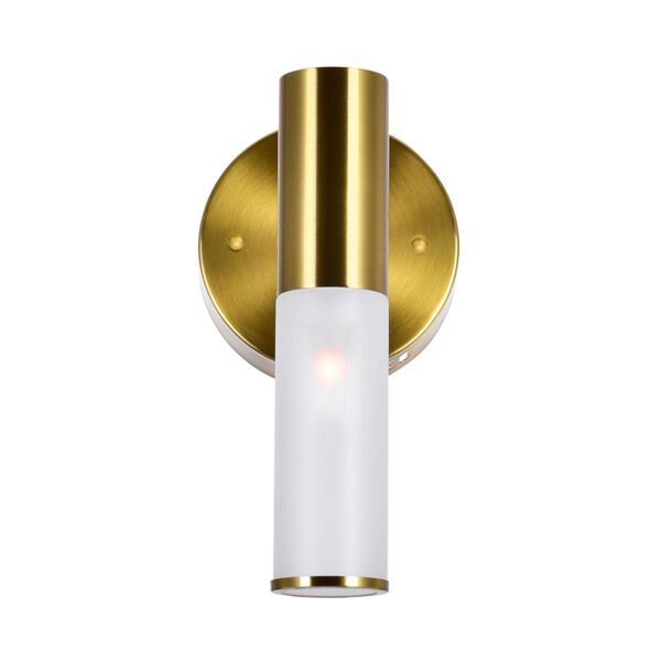 Pipes Brass LED Wall Sconce, image 5